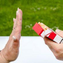 """Psichologė: galvojimas """"norėsiu nerūkyti ir nerūkysiu"""" – ne visada veiksmingas"""