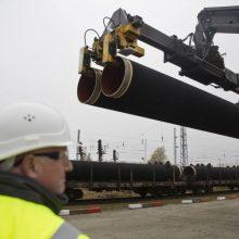 """JAV Senate parengtas įstatymo projektas dėl sankcijų """"Nord Stream 2"""" dalyviams"""