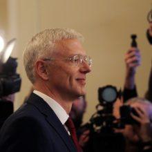 Latvijos premjeras žada stiprinti kovą su pinigų plovimu
