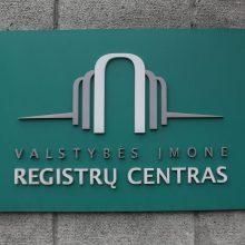 Registrų centrą perims Ekonomikos ir inovacijų ministerija