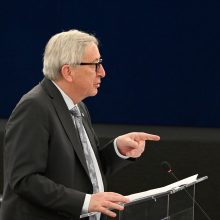 J. C. Junckeris: aš myliu Europą, tegyvuoja Europa!