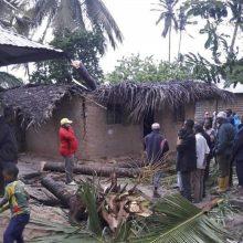 ES skiria 1,5 mln. eurų skubią pagalbą ciklono Mozambike aukoms