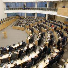 Kelti kandidatus į laisvas vietas Seime ketina devynios partijos
