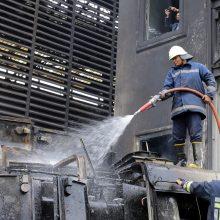 Kairo traukinių stotyje per susidūrimą žuvusių žmonių skaičius išaugo iki 25