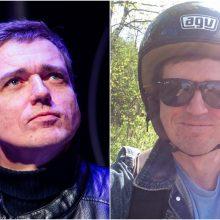 """Grupės """"Biplan"""" narys O. Aleksejevas pateko į avariją: vertėsi per mašinos kapotą"""