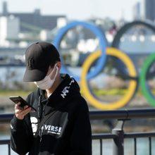 Dėl koronaviruso olimpinės ugnies estafetės dalyviams bus matuojama temperatūra