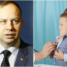 A. Veryga ragina neatidėti profilaktinės vaikų patikros paskutinėms dienoms