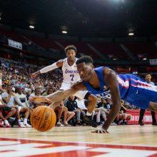 """""""Clippers"""" pergalė vainikuota solidžia """"Žalgirio"""" naujoko kova dėl kamuolių"""