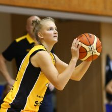 Moterų krepšinyje debiutuojanti 15-metė: didžiausi skirtumai – fiziniame parengime