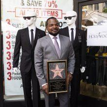 Filmo apie vyrus juodais drabužiais režisieriui – žvaigždė Holivudo šlovės alėjoje