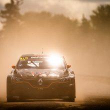 Lietuvis dėl kelialapio į finalą pasaulio ralio-kroso čempionate kovojo iš visų jėgų