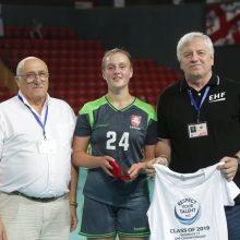 Lietuvos merginų rankinio rinktinė čempionatą pradėjo pergalingai