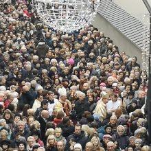 Iškilmingose šv. Mišiose už Lietuvą – priminimas kurti Tėvynę, galinčią priimti visus