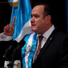 Gvatemala turi naują prezidentą