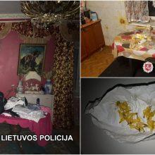 Vilniuje įkliuvo keturi narkotikų platintojai: vystė bendrą šeimos verslą