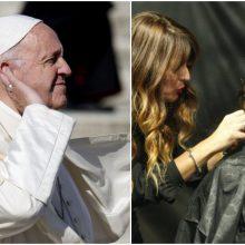 Popiežius subarė kirpėjus dėl liežuvavimo: neskleiskite paskalų