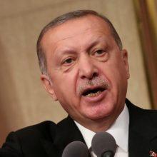 """Turkijos prezidentas Stambulo rinkimų rezultatuose įžvelgia """"organizuotą nusikaltimą"""""""