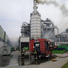 Sprogimas Klaipėdoje: gausios ugniagesių pajėgos gesino degantį pastatą, sužaloti aštuoni žmonės