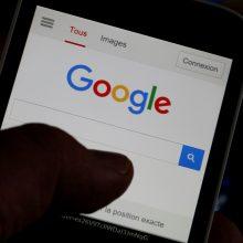 """""""Google"""" blokavo Rusijos opozicijos rekomendacijas dėl balsavimo"""
