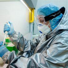 Ukrainoje – 5,8 tūkst. naujų COVID-19 atvejų, mirė 89 pacientai