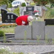 Lėbartų kapinėse vandentiekis jau veikia