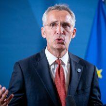 NATO vadovas neigia, kad Aljansas kelia grėsmę Baltarusijai