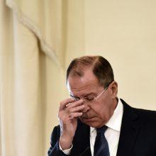 Rusija: Vakarai trukdo teikti paramą Sirijai ir grįžti migrantams