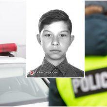 Policija prašo visuomenės pagalbos: Kybartuose be žinios dingo berniukas