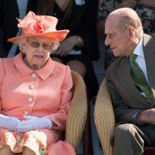 Karalienės Elžbietos vyrui princui Filipui sukako 98-eri