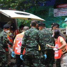Ministras: keturių išgelbėtų tailandiečių berniukų būklė – gera