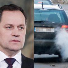 V. Tomaševskis: nepalaikysime automobilių taršos mokesčio