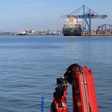 Ginčas teisme dėl uosto gilinimo: ar pavyks prisiteisti 120 tūkst. eurų skolą?