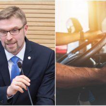 L. Kukuraitis pateikė siūlymą dėl vairuotojams mokamų dienpinigių