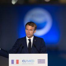 Šveicarijai nusprendus pirkti JAV naikintuvus, Prancūzija atšaukė prezidentų susitikimą