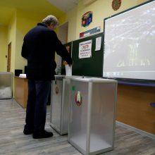 Baltarusijoje sekmadienį vyksta parlamento rinkimai