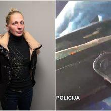Pareigūnams įkliuvo puikiai žinoma kišenvagė: žmones apvogdavo viešajame transporte