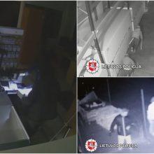 Policija sulaikė siautėjusius seifų vagis: visi jie – užsieniečiai <span style=color:red;>(vaizdo įrašas)</span>