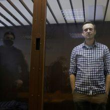 Advokatė: A. Navalnas patiria smarkų skausmą, šalininkai baiminasi dėl jo gyvybės