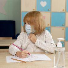 Pagalba mažiesiems klaipėdiečiams: kai kuriems moksleiviams sudarytos sąlygos eiti į mokyklą