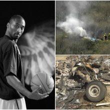 K. Bryanto tragedija: sudužusio sraigtasparnio pilotas prarado orientaciją