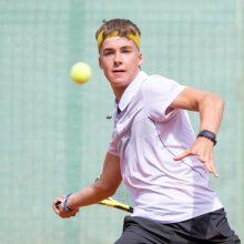 Lietuvos teniso čempionatas turės naują nugalėtoją