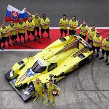 """""""Aurum 1006 km lenktynėse"""" pirmąkart plevėsuos ir Slovakijos vėliava"""