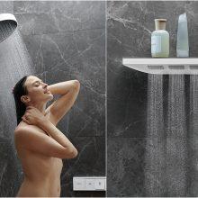 Technologijos vonioje: nuo 3D išspausdintų maišytuvų iki išmanios telefono lentynėlės