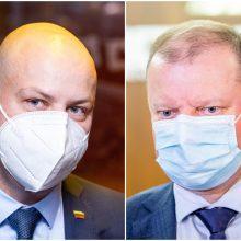 S. Skvernelis ir A. Veryga buvo kviečiami į susitikimą Prezidentūroje, tačiau neatvyko