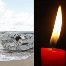 Klaipėdoje apsivertė jachta, vienas žmogus nuskendo, dar vienas – nerastas