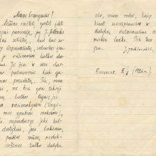 Autorius pergyvenusiuose laiškuose – Lietuvos šviesuolių rūpesčiai ir darbai