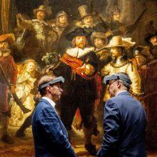 Amsterdamo muziejus pradeda Rembrandto šedevro restauravimą