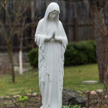 Globėja: Švč.Mergelė Marija globoja visus, kurie ateina į vienuolyną.