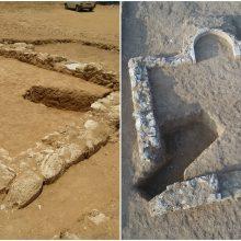 Izraelyje mokslininkai atkasė 1 200 metų senumo mečetę