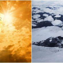JT: klimato krizė yra didžiausia grėsmė po Antrojo pasaulinio karo